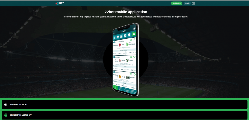 22bet app- ios and android